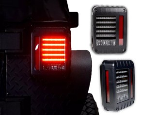 Jeep Wrangler JK LED Tailight Assembly - DS98A