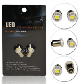 LED Interior SMD Bulbs - 1 5050 LED - BA9s