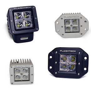 12w LED Cube Fog Light: 4 LED