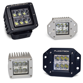 18w LED Cube Fog Light: 6 LED
